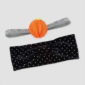 Baby Fall/Pumpkin headbands